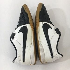 Nike Shoes - Nike kids tiempo Black white velcro Sneakers 3